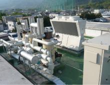 アイスチラー®氷蓄熱システム実験設備