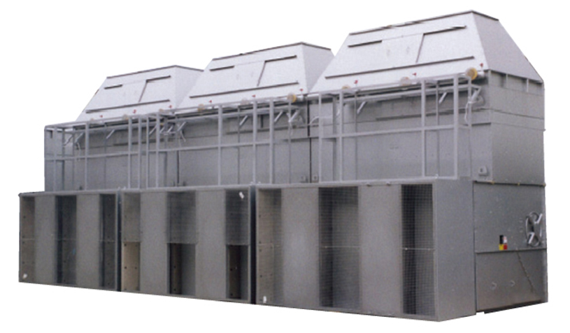 開放式冷却塔の特徴